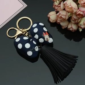 💟 JUST IN 💟 Minnie Mouse Bag Charm Key Ring